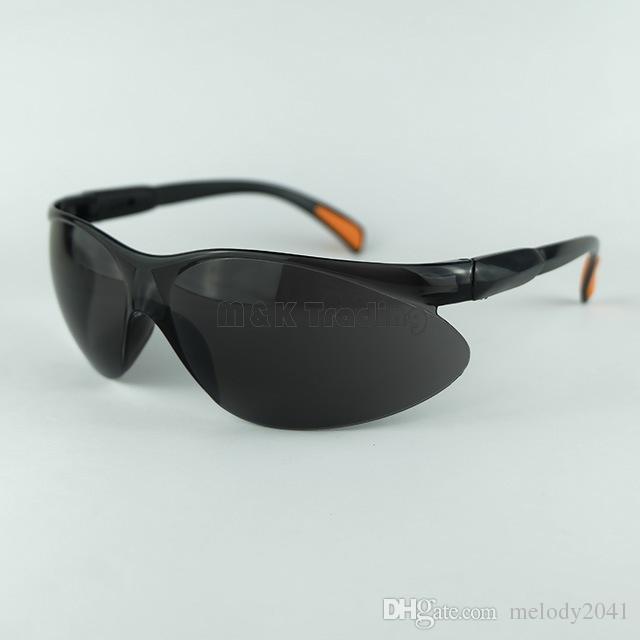 Suministros de seguridad en el lugar de trabajo Gafas de seguridad a prueba de polvo Anteojos Protección para los ojos Protección para el trabajo Dispositivo transparente blanco y negro