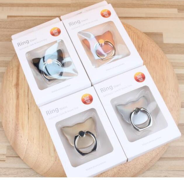 2017 New Products 360 Degree Rotating Ring Finger Grip Mobile Phone Holder for Smartphones