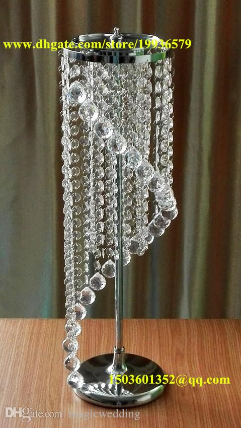 28 Wedding Spiral Crystal Chandeliers Centerpieces Decorations