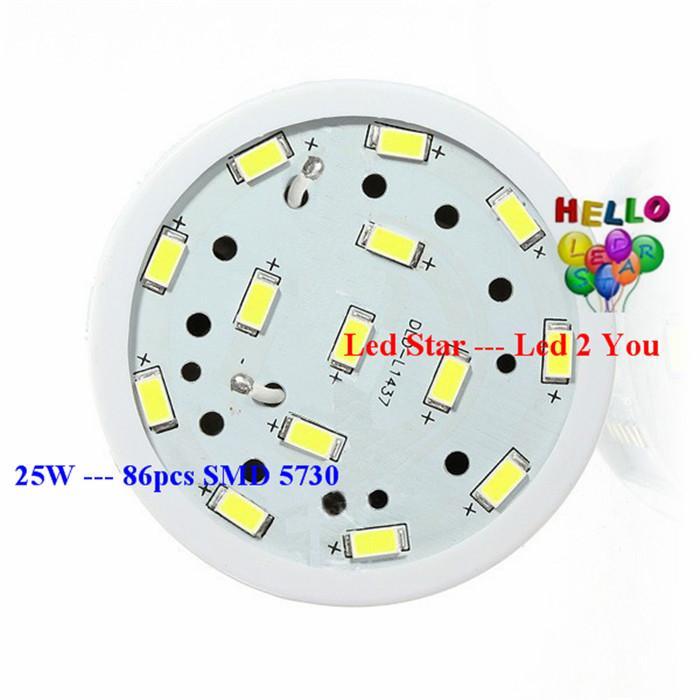 E27 E26 E14 B15 B22 LED أضواء الذرة 360 زاوية 20W 25W 30W عكس الضوء الصمام لمبات الضوء CRI85 الدافئة / الباردة الأبيض AC 110-240V
