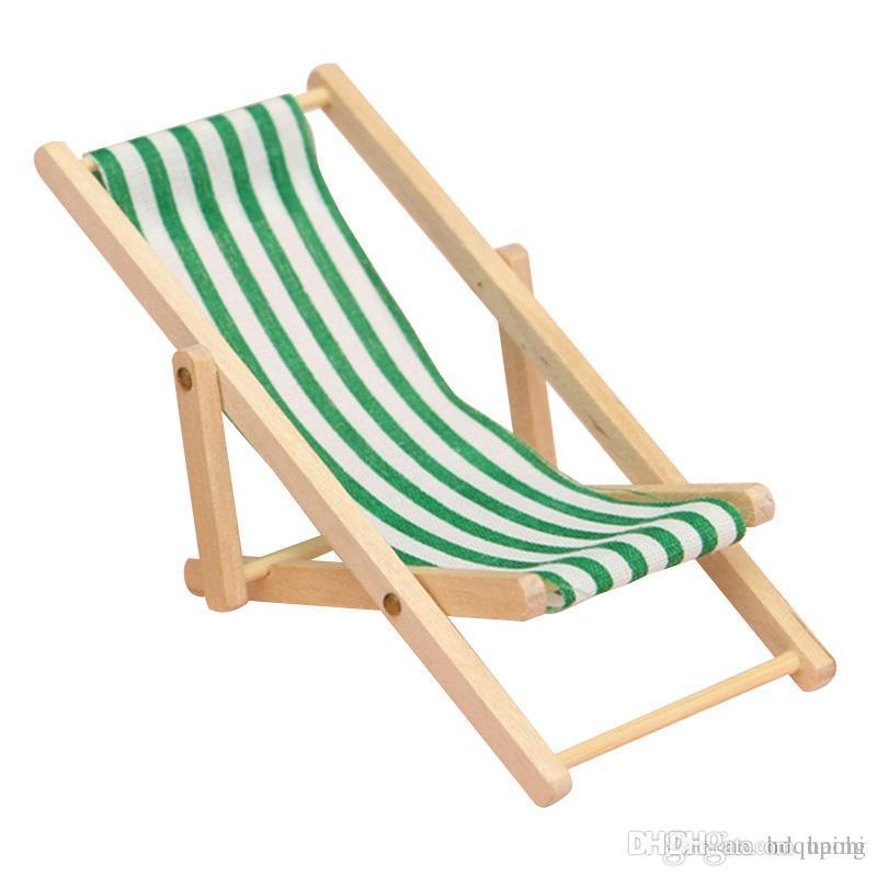 Hot Sale Green New 2016 High Quality Diy Dolls House 1:12 Miniature  Foldable Wooden Deckchair Lounge Beach Chair Hot Sale Camping Kitchen  Contemporary ...