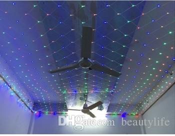 3M * 3M 400LED صافي الأنوار الصمام أضواء عيد الميلاد صافي ضوء الستار أضواء فلاش مصابيح مهرجان أضواء عيد الميلاد