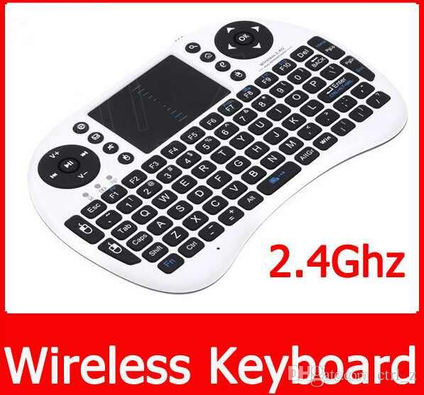 Rii Air Mouse Wireless Handheld Keyboard Mini I8 2.4GHz Touchpad Remote Control For MX CS918 MXIII M8 TV BOX Game Play Tablet Mini PC