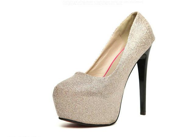 official site cheap online 2016 Spring Europen 14cm Thin High Heels Women's Pumps 5cm platform sexy Paillette ladies Shoes free shipping best prices cheap sale outlet locations discount amazing price clearance footlocker pictures pfyqowL7YM