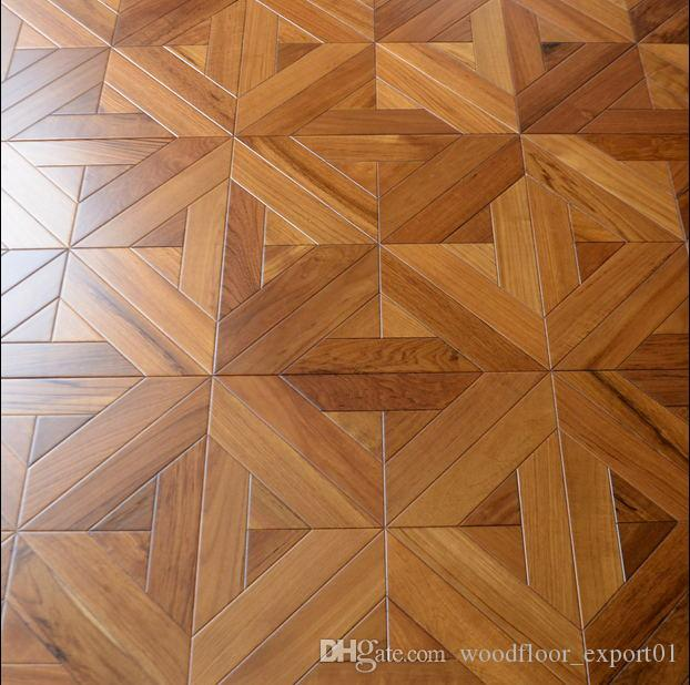 Teak Laminate Wood Flooring Parquet Flooring Art Deco Hardwood