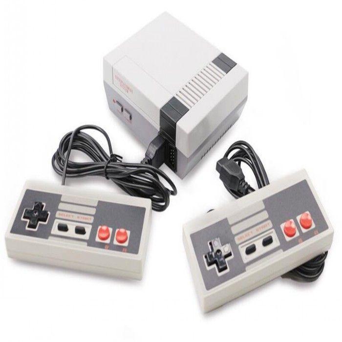 مصغرة لعبة TV فيديو وحدة التحكم محمول للألعاب NES مع boxs التجزئة