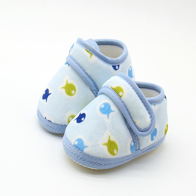 c488bd2876225 2018 Wholesale Lovely Cute Baby Girl Shoes 0 18 Months Newborn Baby Shoes  Cotton Print Kids Toddler Crib Shoes Soft Soled First Walkers From Humom