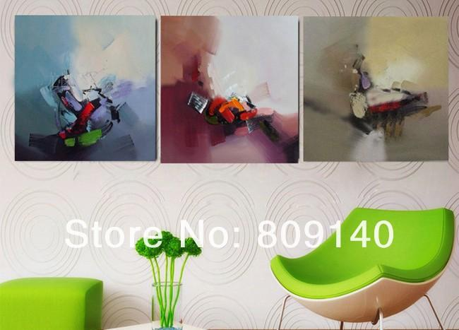 Abstract Oil Painting Canvas Quality Handmade Modern Simple Home ...