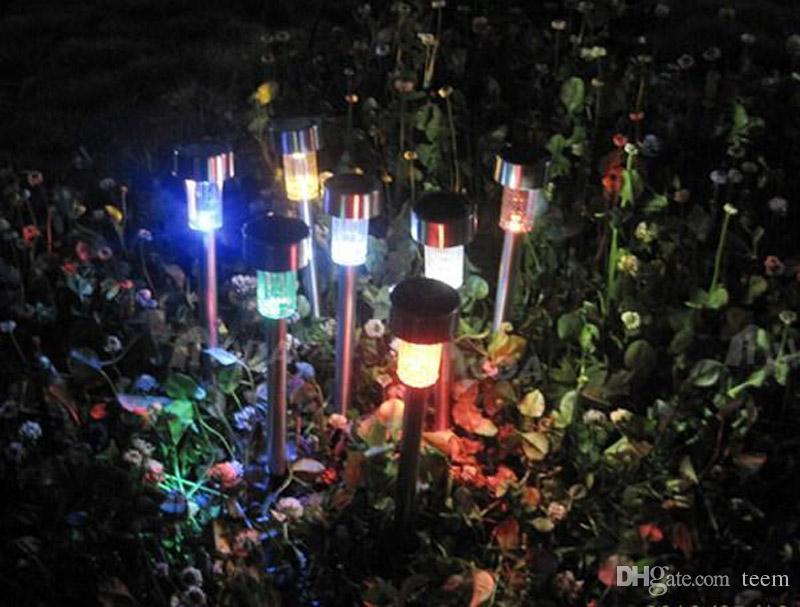 太陽の芝生の庭のライトLEDの育成ライトLEDソーラーガーデンライト屋外ガーデンパーティーランプLED装飾ライト20