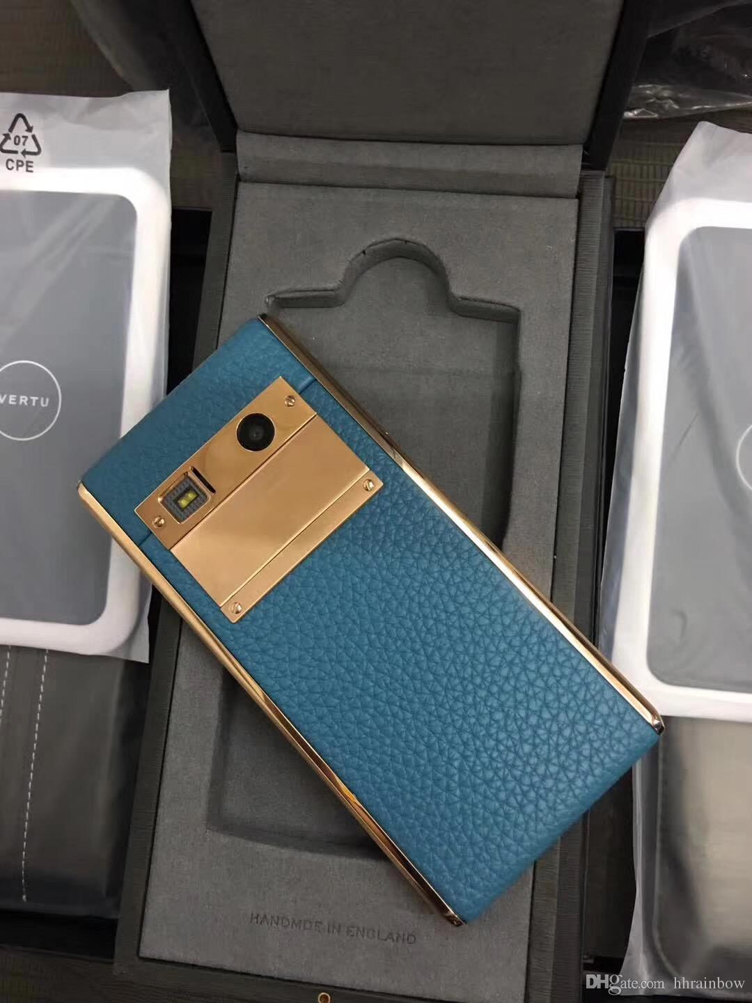 Brand New Vertu ASTER 4.7 inch Luxury Smartphone with most reasonable price, Full metal body with CEO alligator skin Customization