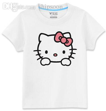 Wholesale hello kitty casual t shirts shirt sleeve for men for Hello kitty t shirt design