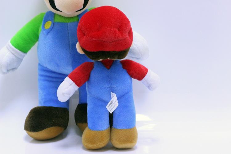 Super Mario Bros Plush Toys Doll Mario Luigi Plush Stuffed Toy Doll Stuffed Plush Toy Game Figure Christmas Party Best Gifts 25cm 36cm