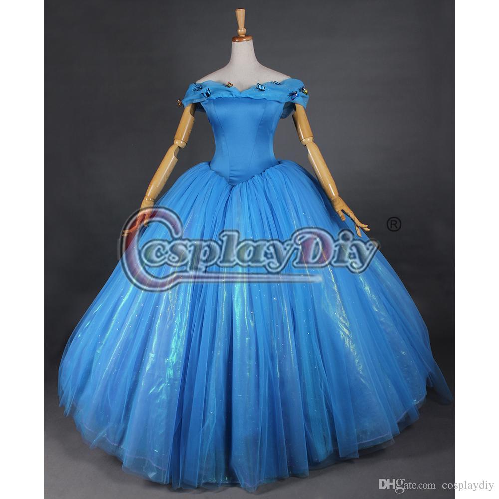 2015 Newest Cinderella Quinceanera Dresses Ball Gown Off Shoulder ...