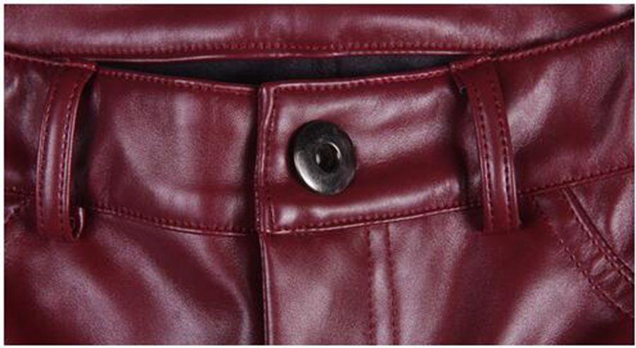 Le donne d'inverno in Europa e la nuova edizione han merci di qualità più elastiche e leggings stretti in velluto pantaloni di pelle sottile. S - 4xl