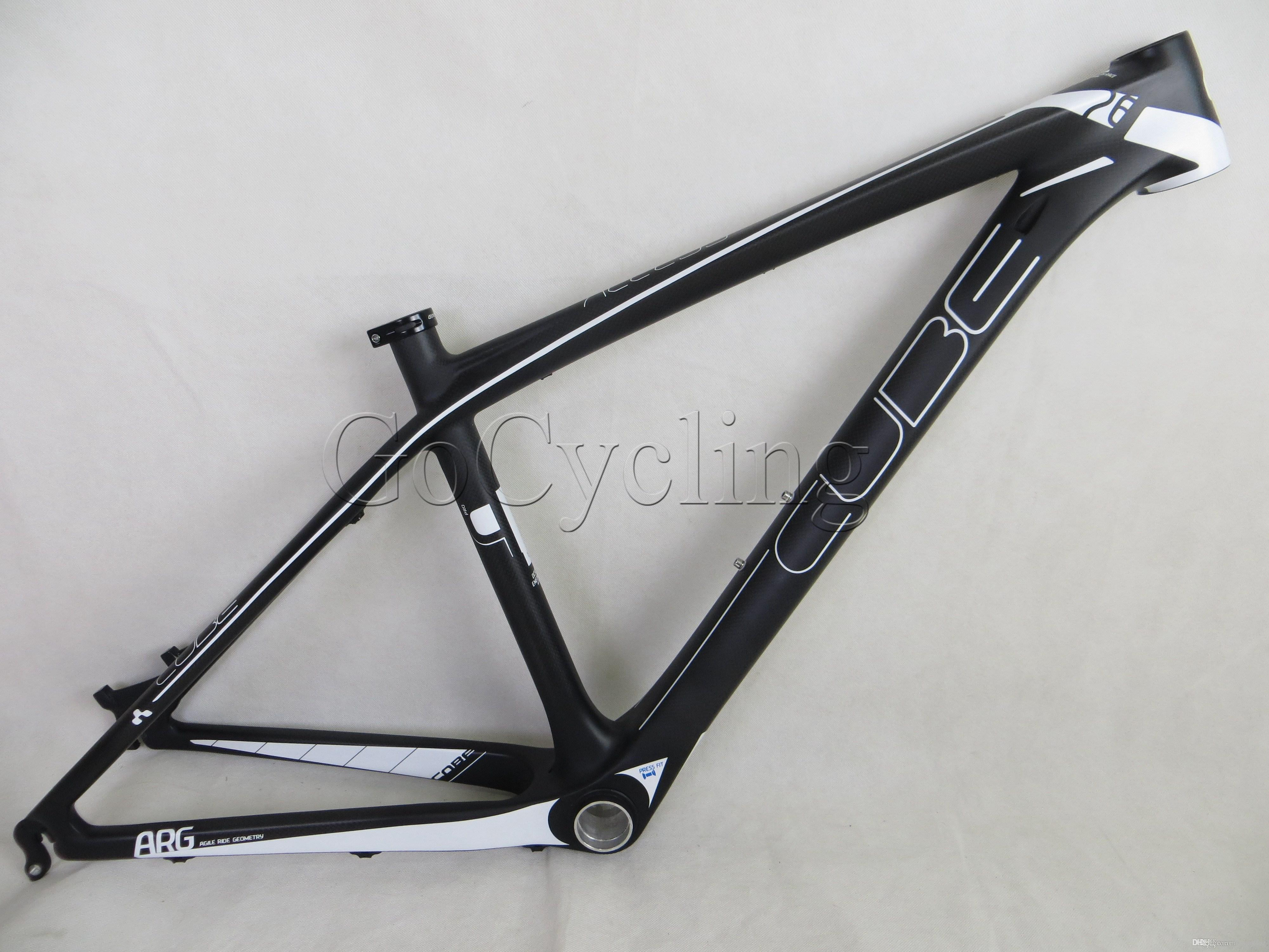 cube 26er mountain carbon fiber bike frames mtb hardtail carbon frame with headset frame size 14 and 16 multi color available bicycles for sale bikes for - Mtb Frames