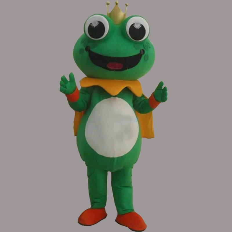 2016 New Super Hot Frog Prince Mascot Costume Fancy Dress EPE & 2016 New Super Hot Frog Prince Mascot Costume Fancy Dress Epe Easy ...