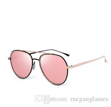 New Polarizing Metal Baking Paint Pilot Sunglasses Street Fashion ...