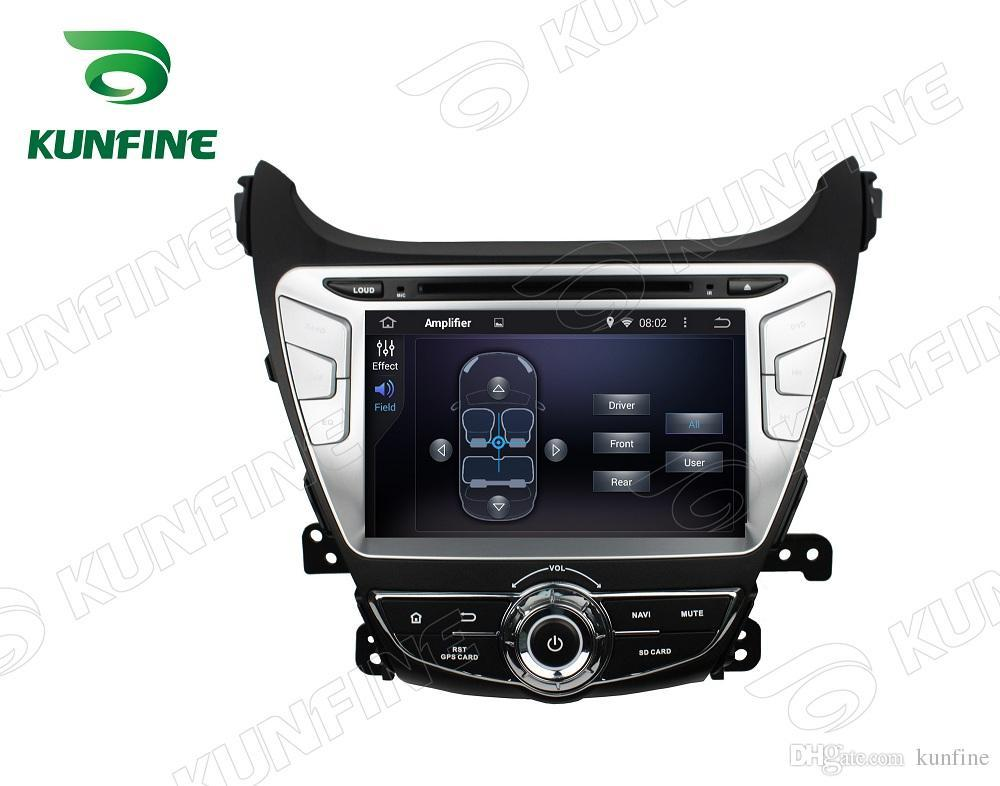 Quad core HD Screen Android 4.4 Car DVD GPS Navigation Player for HYUNDAI Elantra 2014 Bluetooth Wifi/3G Steering Wheel Control