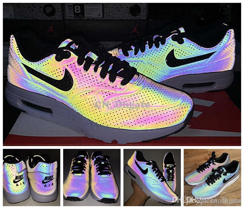 newest 84cec 08c3d Nike Air Max 1 Ultra Moire Glow In The Dark