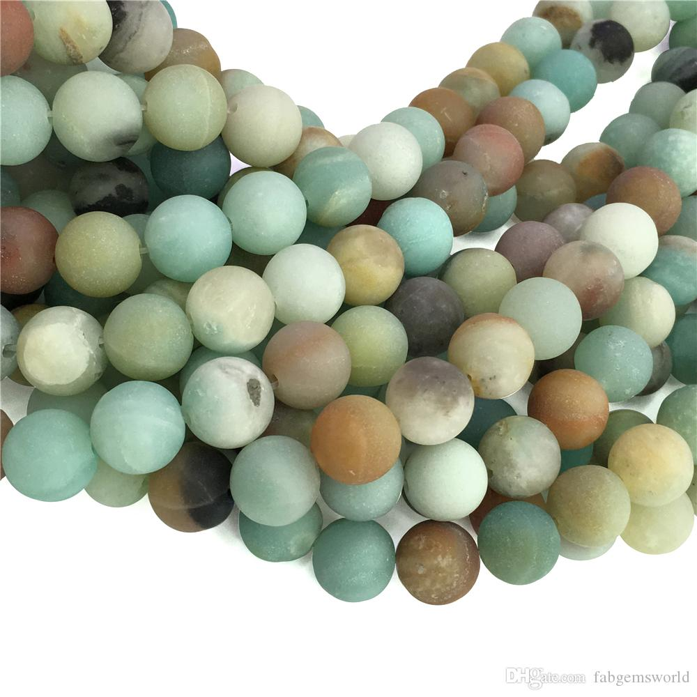 jasper brecciated strand wholesale round stone hole green online gemstone full store product beads matte