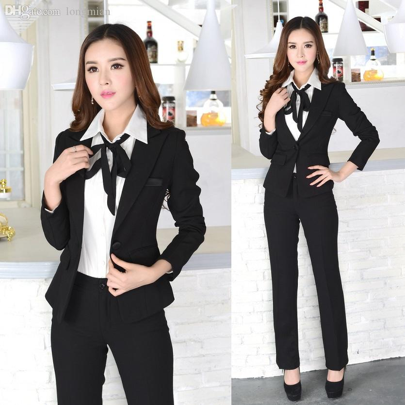 2018 wholesale new 2016 winter formal office uniform for Office uniform design 2016