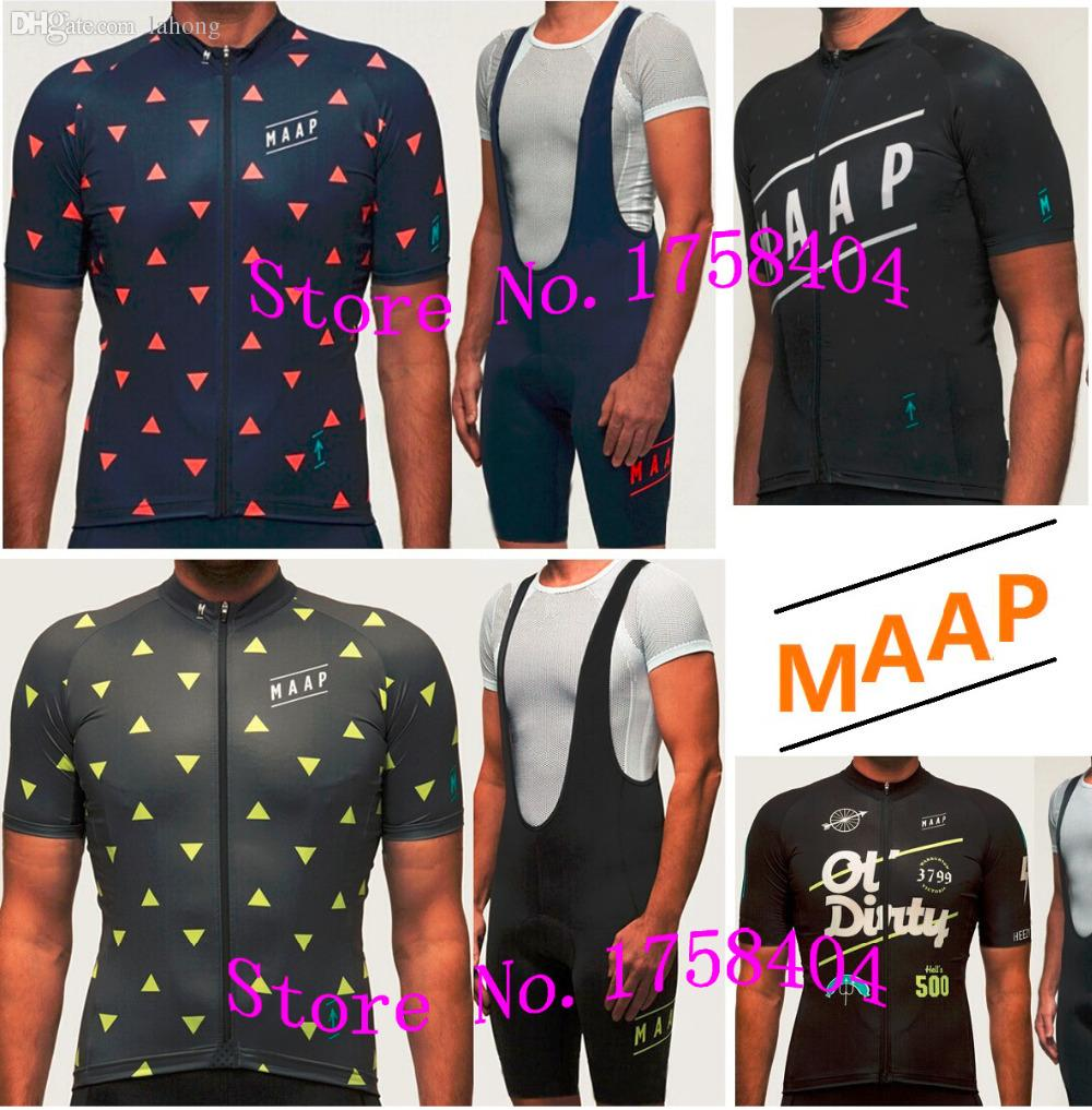 Wholesale Photo Color MAAP Cycling Jersey Men S Team Bike Bicycle Clothing  Ropa Ciclismo Maillot Bicicleta Short Bib   Sizes Can Be Cycling Clothing  Sale ... ea772931b