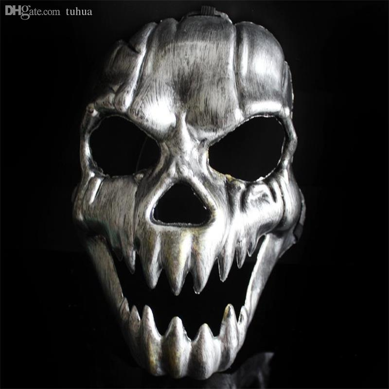 2020 Wholesale Scary Ghost Skeleton Masks For Halloween