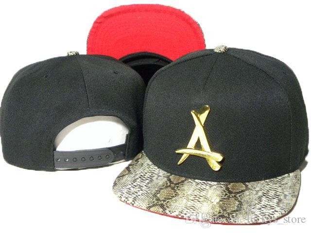 Hot Snapback Caps Tha Alumni baseball Snapback Hats Mens Gold A Hip Hop Sports Hats fashion Brand New Wholesale Adjustable Bone gorras Cap