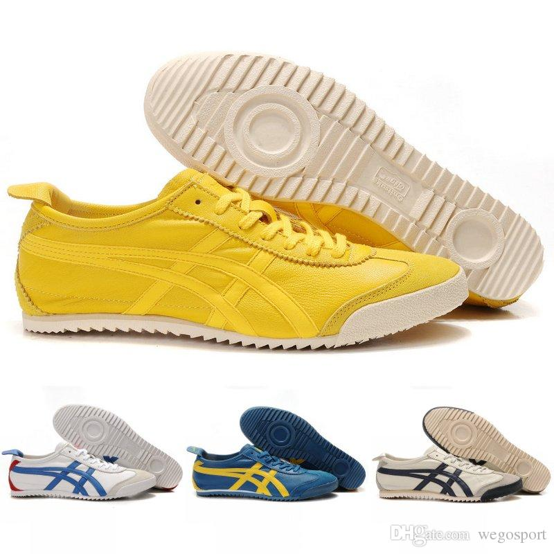 huge selection of 6456b 08e3e Asics Originals Onitsuka Tiger Sheepskin MEXICO 66 Competitive Sports  Fashion Running Shoes Mens Cheap boots Discount Sneakers Size 36-45