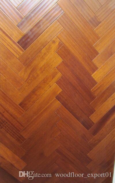 2018 Natural Oil Wood Floor Herringbone Black Wood Flooring Pear