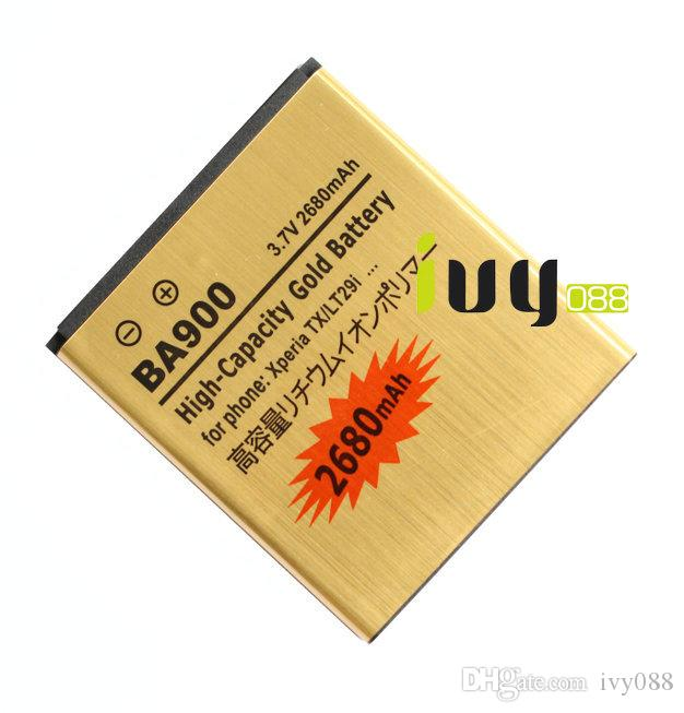 2680 MAK BA900 GOUD VERVANGING BATTERIJ VOOR TX GX LT30 LT29I J ST26I L S36H C2104 C2105 Batterijen Batteria Batterij
