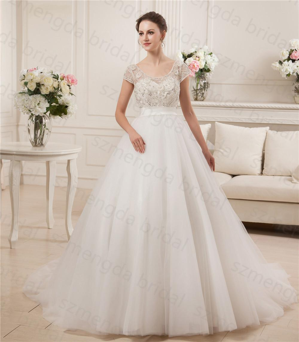 Low Back Ball Gown Wedding Dress – fashion dresses d5494fc7331c