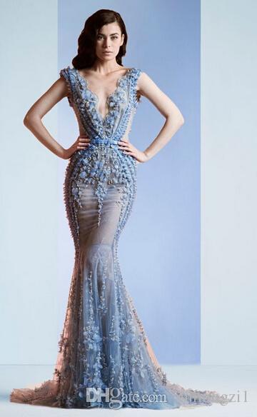 mermaid prom dresses 2015