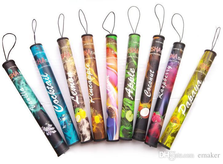 Wholesale E ShiSha Time Disposable Cigarette E HOOKAH 500 Puffs Various Fruit Flavors Colorful SHISHA TIME Pens Electronic Cigarette