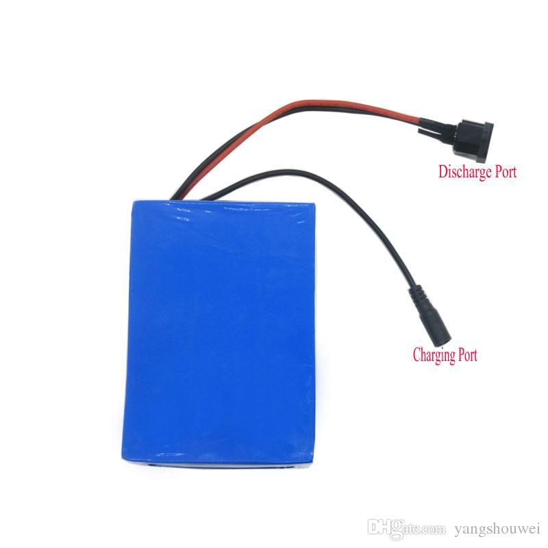 gros 24V rechargeable batterie de vélo 24V 12AH batterie au lithium avec boîtier en PVC 15A BMS 29.4V 2A chargeur livraison gratuite