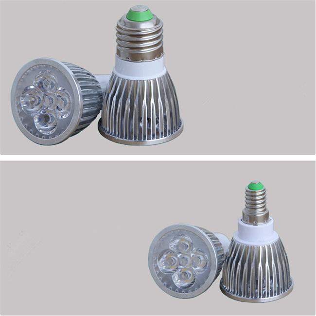 Comercio al por menor de Alta potencia CREE 9 W 12 W 15 W Regmable GU10 MR16 E27 E14 GU5.3 llevó la Lámpara de Luz del Proyector led bombilla Envío gratis
