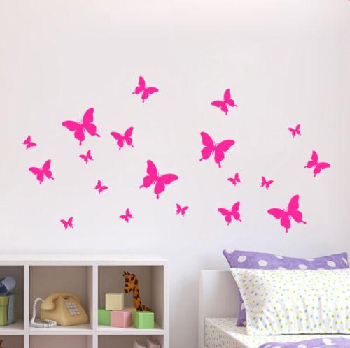Removable Diy Butterfly Wall Decor Art Home Decal Stickers Wall ...