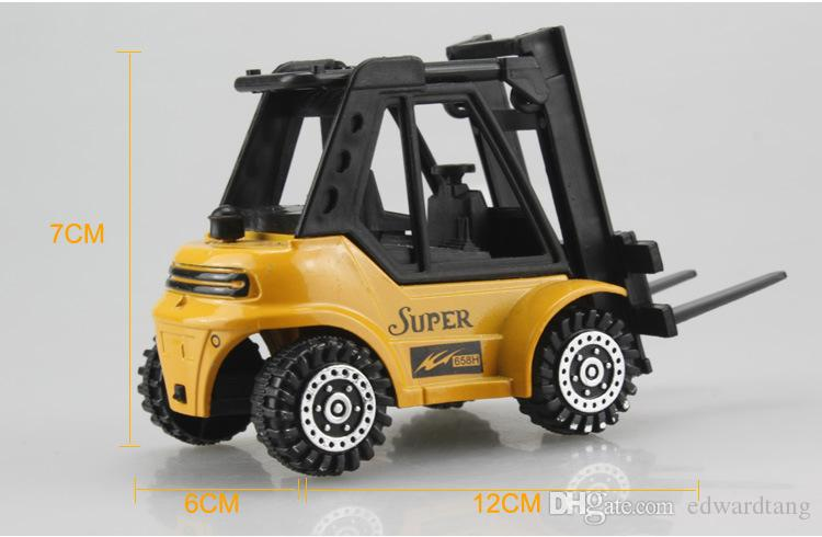 DIY Truck Toy, Educational Truck Series Model, 5 Kinds of Trucks, Proportion 1:50, Precision Super Simulation Vehicles for Gifts, Collecting