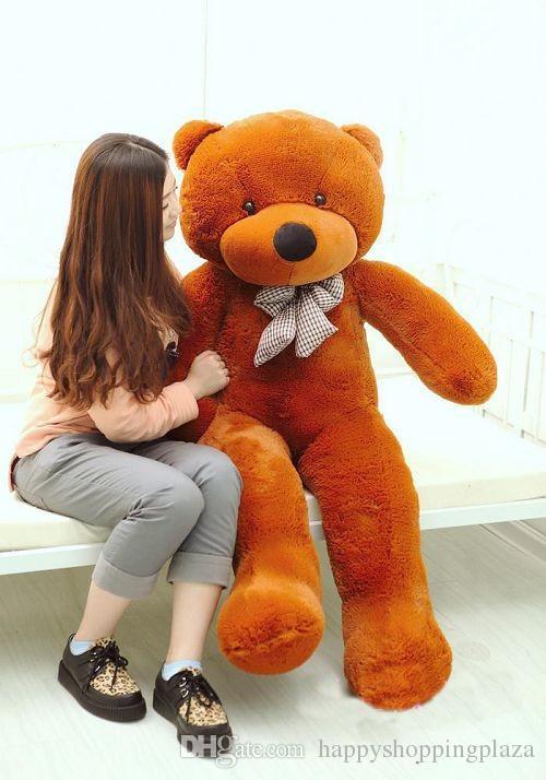 2019 joyfay giant teddy bear 200 cm 2m 78 39 39 huge big. Black Bedroom Furniture Sets. Home Design Ideas