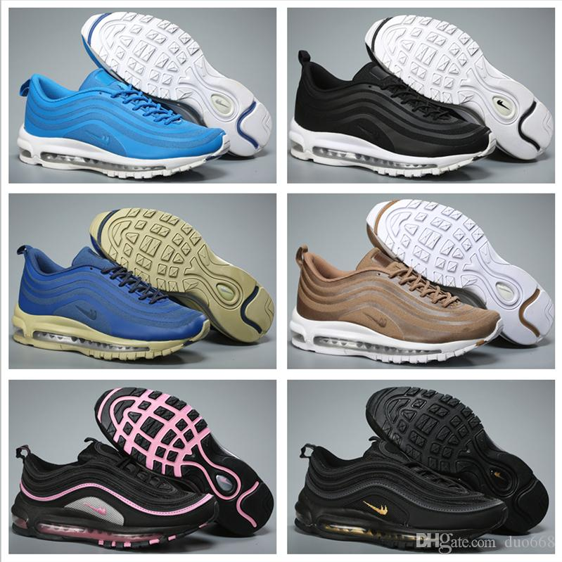 buy cheap low price Cheap Men Women Running Shoes 97 High Quality 2018 New Shoes Bullet OG Fashion Jogging Outdoor Free Shipping Size 5.5-12 clearance outlet store discount online NQ1tg1DGx