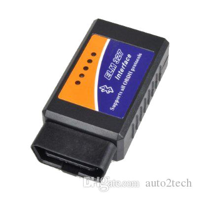Strumento di ricerca di adattatore scanner wireless OBD2 WIFI ELM327 wireless di promozione iPhone iPad iPod OBDII Diagnostic Spedizione gratuita