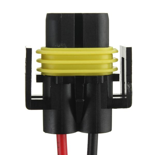 Neue H8 H11 Buchse Adapter Kabelbaum Buchse Auto Auto Draht Stecker Kabel Stecker Für HID LED Scheinwerfer Nebelscheinwerfer Lampe lampenauftrag $ 18no tra