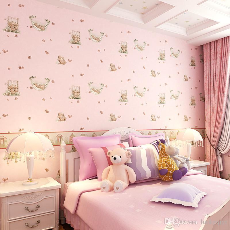 New Hot Waterproof Cartoon Bear Children\'S Room Wall Decor Boy Girl ...