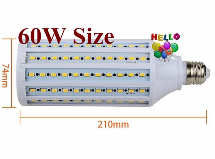 E26 E27 E40 светодиодные лампы кукурузы свет 40W 50W 60W 80W SMD 5730 Светодиодный прожектор для света Лампада Подвесная Освещение AC 85-265V