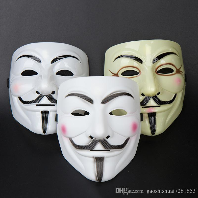full face for childrenmenwomen halloween christmas cool mask v for vendetta anonymous movie guy fawkes vendetta mask cosplay costume - Cool Masks For Halloween