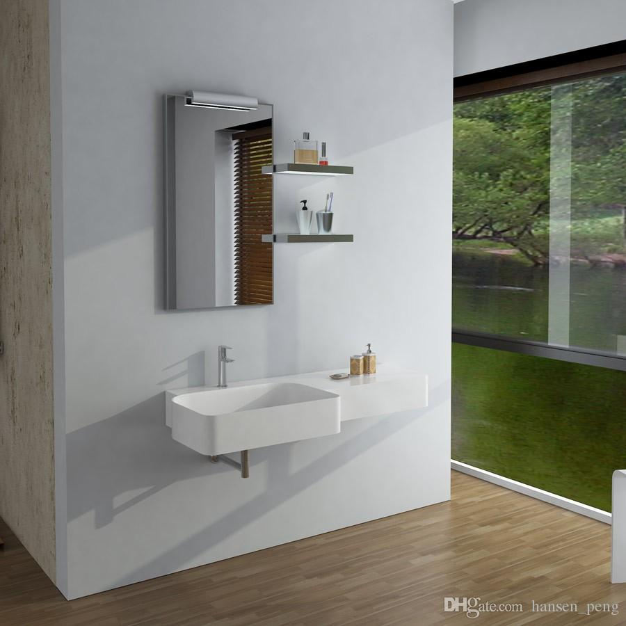 rectangular bathroom solid surface stone wall hung sink fashionable rh dhgate com