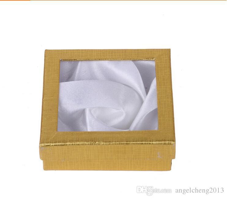 쥬얼리 결혼식 스토리지 주최자 포장 블랙 박스 케이스 맞는 팔찌 팔찌 단색 컬러 패키지 12 팩 무료 배송