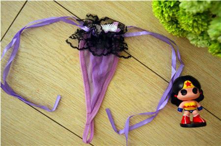 Freies Verschiffen-neue reizvolle Wäsche-G-Schnur G-Schnur-Zapfen-Höschen-Frauen keucht kurze T zurück Unterwäsche-Liebes-Rosa-Spitze Tanga Braga Großverkauf XID