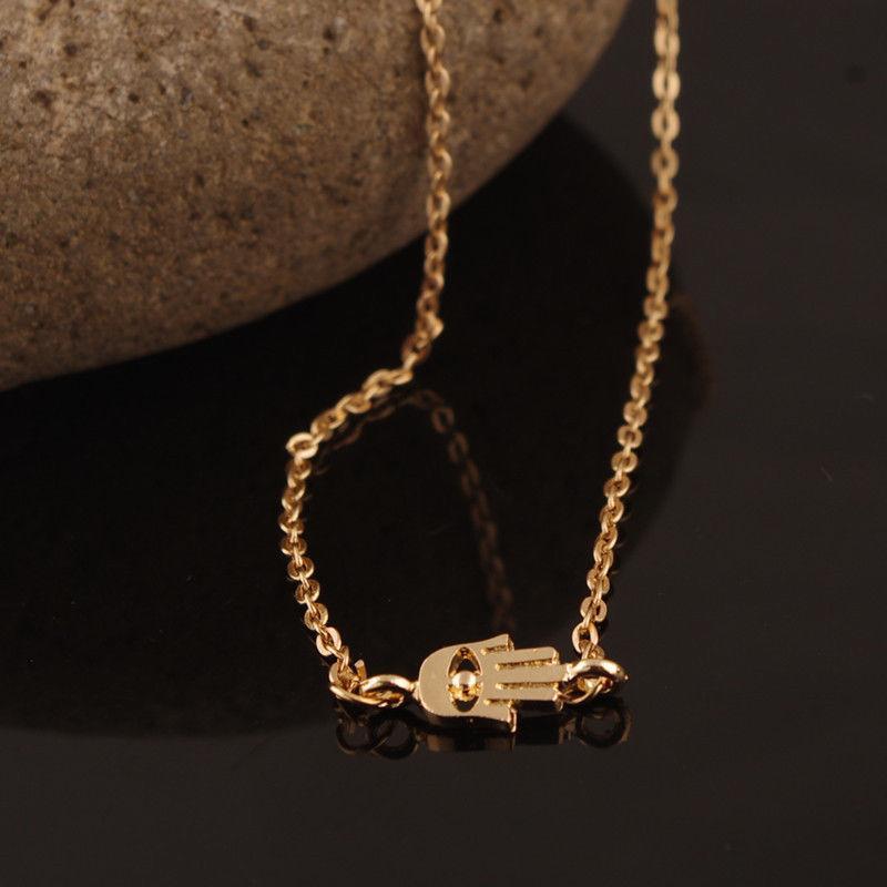 Wholesale evil eye pendant gold silver chain necklace fashion see larger image aloadofball Choice Image