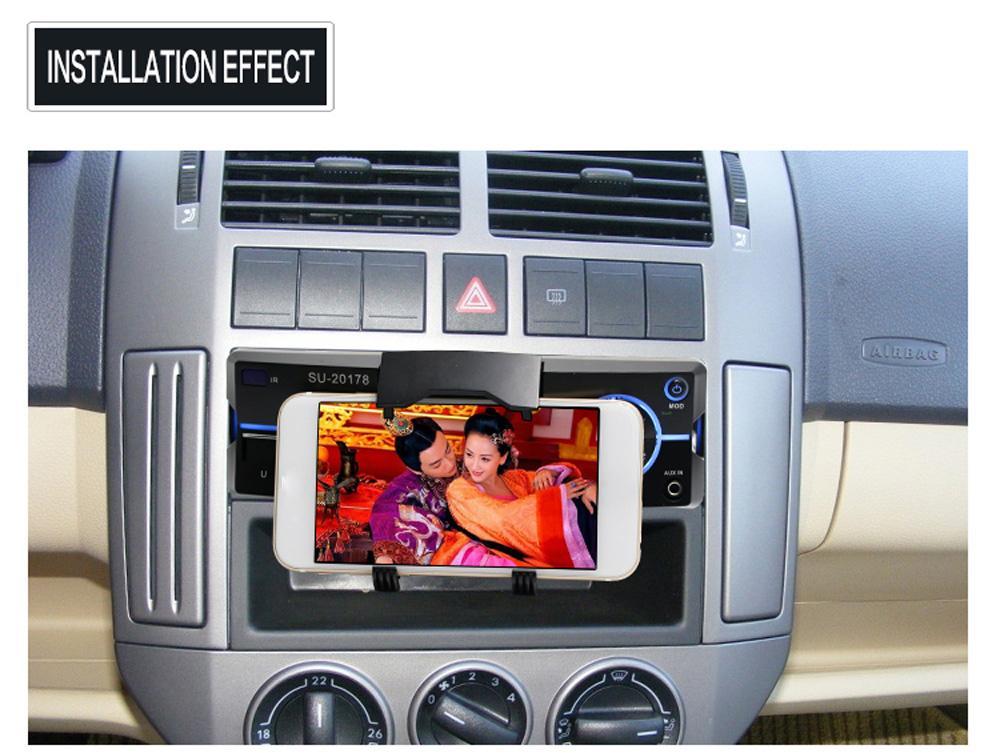 Autoradio Car Radio Stereo Bluetooth MP3 Player AUX-IN MP3 FM/USB/1 Din/Remote Control 12V Car Audio